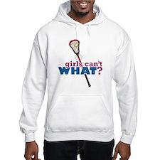 Lacrosse Stick Red Hoodie