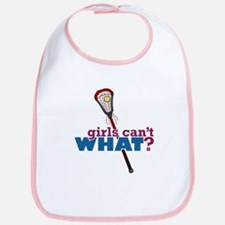Lacrosse Stick Red Bib