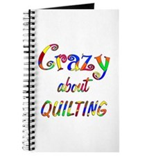Crazy About Quilting Journal