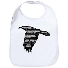 The Raven - Edgar Allan Poe Bib