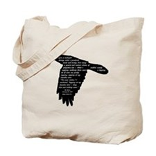 The Raven - Edgar Allan Poe Tote Bag