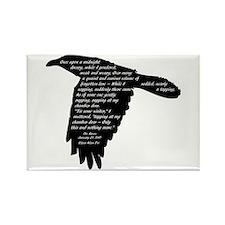 The Raven - Edgar Allan Poe Rectangle Magnet