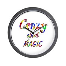 Crazy About Magic Wall Clock