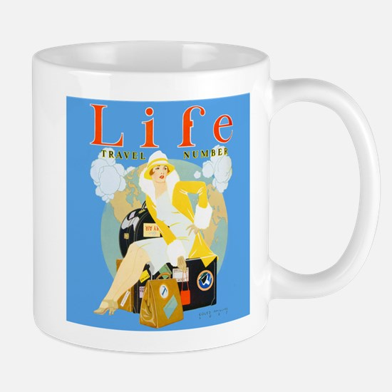 Life Travel Number Mug