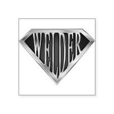 SuperWelder(metal) Rectangle Sticker
