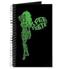 Swirly La Fee Verte Journal