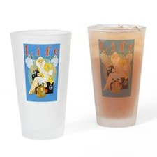 Life Travel Number Drinking Glass
