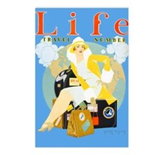Life Travel Number Postcards (Package of 8)