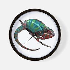 Cute Chameleon Wall Clock