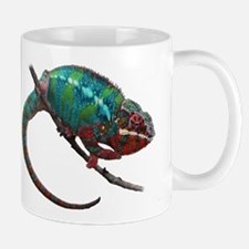 red and blue panther chameleon Mugs