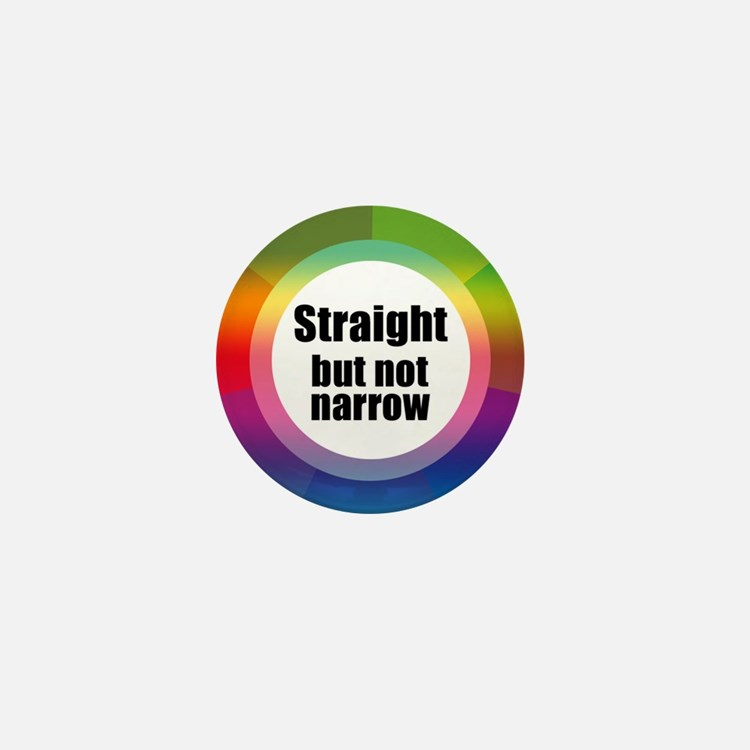 Cute Straight not narrow Mini Button