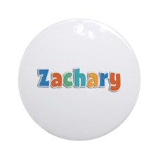 Zachary Spring11B Round Ornament