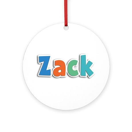 Zack Spring11B Round Ornament