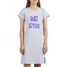 Be Still Women's Nightshirt