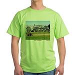 Painted Ladies Green T-Shirt