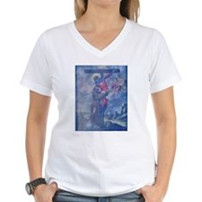 CAPTAIN MARVEL DECENDING FROM THE CROSS Shirt