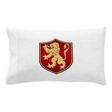 Gilded Lion Sigil Pillow Case