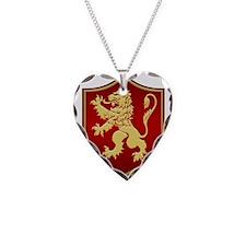 Gilded Lion Sigil Necklace