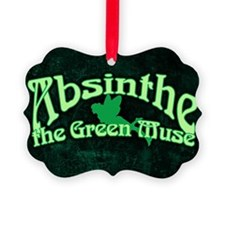 Absinthe The Green Muse Ornament