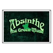 Absinthe The Green Muse Banner