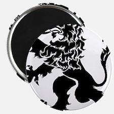 "Black Lion Rampant 2.25"" Magnet (100 pack)"