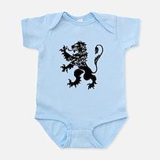 Black Lion Rampant Infant Bodysuit