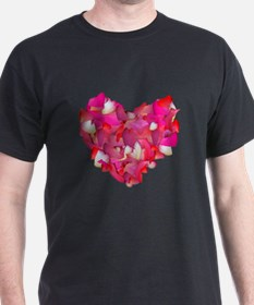 Valentine Heart of Roses T-Shirt