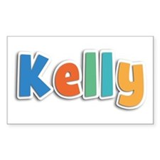 Kelly Spring11B Rectangle Decal