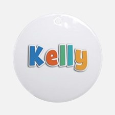 Kelly Spring11B Round Ornament