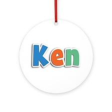 Ken Spring11B Round Ornament