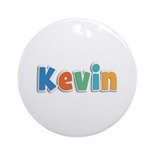 Kevin Spring11B Round Ornament