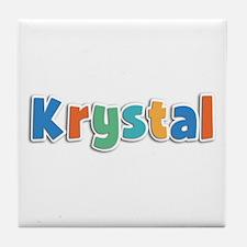 Krystal Spring11B Tile Coaster