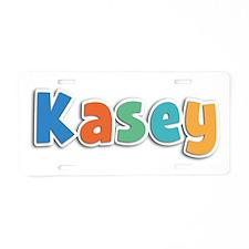 Kasey Spring11B Aluminum License Plate