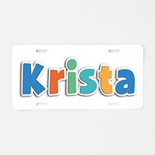 Krista Spring11B Aluminum License Plate
