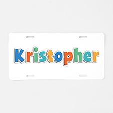 Kristopher Spring11B Aluminum License Plate
