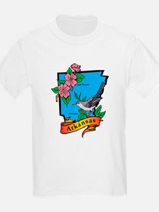 Arkansas Map T-Shirt