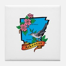 Arkansas Map Tile Coaster
