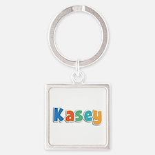 Kasey Spring11B Square Keychain