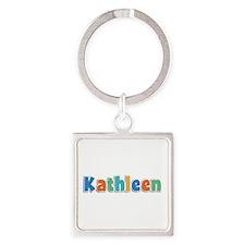 Kathleen Spring11B Square Keychain