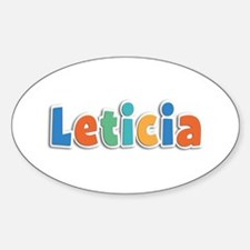 Leticia Spring11B Oval Decal