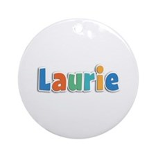 Laurie Spring11B Round Ornament
