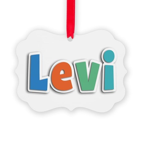 Levi Spring11B Picture Ornament