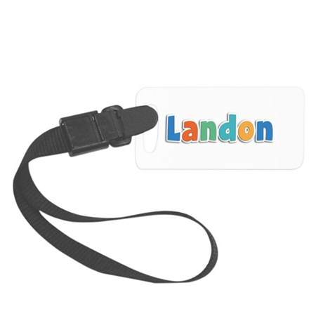 Landon Spring11B Small Luggage Tag