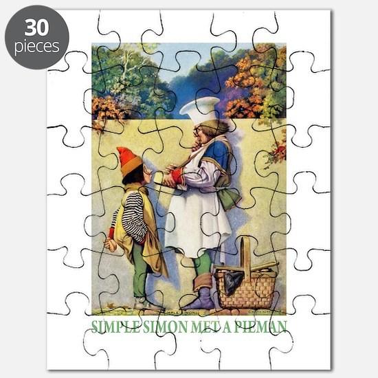 Simple Simon Met a Pieman Puzzle