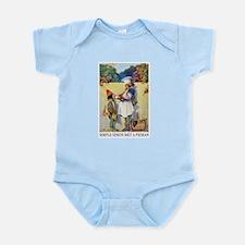 Simple Simon Met A Pieman Infant Bodysuit