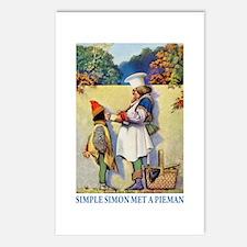 Simple Simon Met a Pieman Postcards (Package of 8)