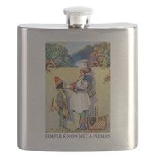 Simple Simon Met A Pieman Flask