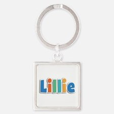 Lillie Spring11B Square Keychain