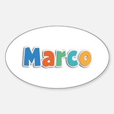 Marco Spring11B Oval Decal