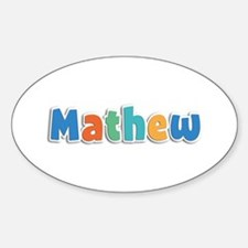 Mathew Spring11B Oval Decal